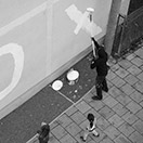 Positive-Propaganda / Mark Jenkins / Streetart in Munich/Germany - Work in Progress