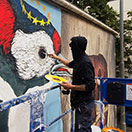 Positive-Propaganda / Ericailcane / Streetart in Munich - work in progress
