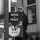 PEACE IS JUSTICE - Protestmarsch