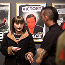 VICTORY IS PEACE 2016 / Vernissage mit ANTI-FLAG